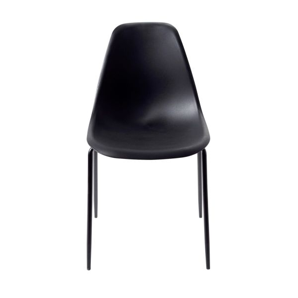 Stuhl-Set, 4-tlg. Leandro Schwarz