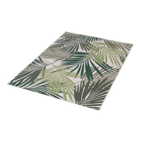 Outdoor-Teppich Romeo Grün/Beige 200 x 290 cm