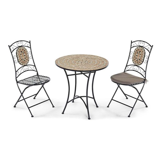 Spar-Set Outdoor-Möbel-Set, 3-tlg. Kemo