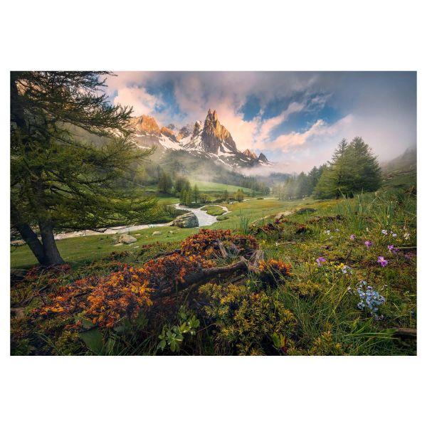 Vlies Fototapete Alpenparadies