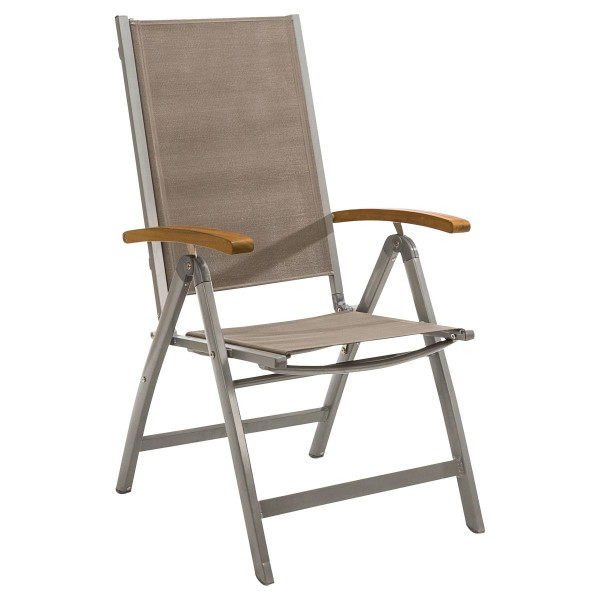 Outdoor Sessel Capri grau