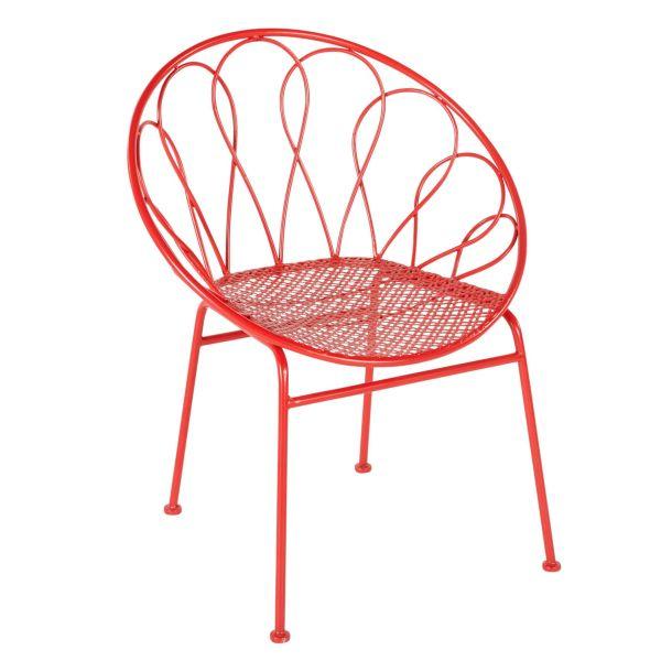 Outdoor-Stuhl Becky Rot