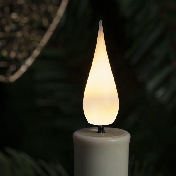 LED-Baumbeleuchtung Kerzen Weiß