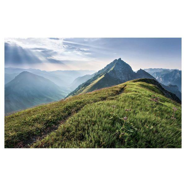 Digitaldruck Tototapete Bergwiese