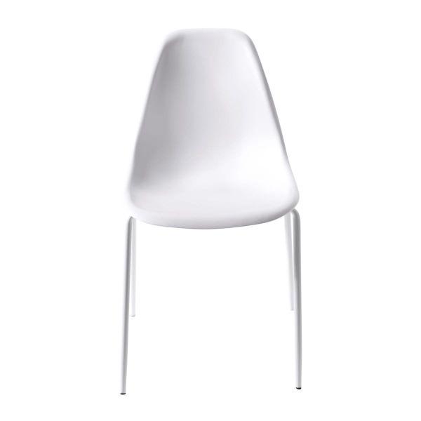 Stuhl-Set, 4-tlg. Leandro Weiß