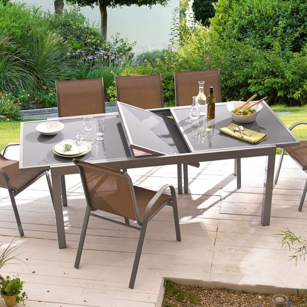 Outdoor-Tisch Futura gross