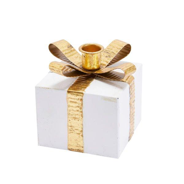 Kerzenhalter-Set, 4-tlg. Geschenkpäckchen